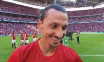 Ibrahimovic nói gì sau khi tỏa sáng giúp M.U đăng quang?