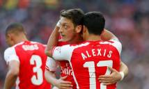 Arsenal tăng lương cho Ozil, chấp nhận mất Sanchez