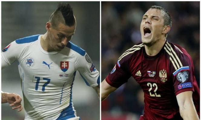 Nga vs Slovakia, 20h00 ngày 15/06