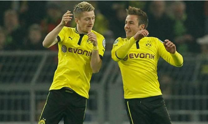 Dortmund đón chào Reus và Goetze trở lại