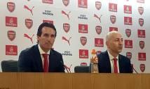 Vừa tới Arsenal, Emery đã đặt mục tiêu 'khủng' cùng đội bóng mới
