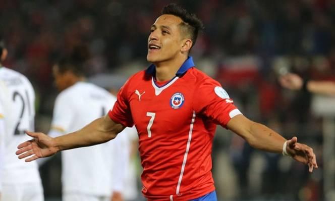Chile vào bán kết, Sanchez san bằng kỉ lục