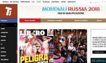 """Báo chí Italia chờ """"phép màu"""" dự World Cup, cảm ơn nghị sỹ Peru"""