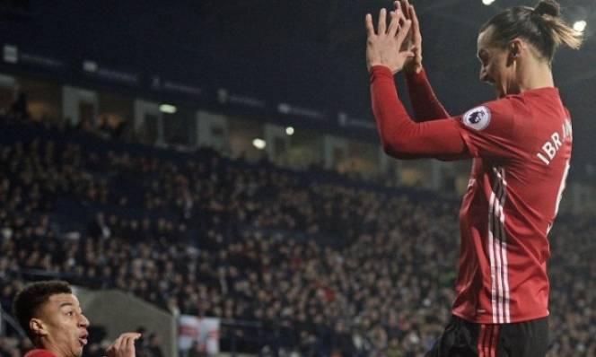 Lingard tâng bốc đàn anh Ibrahimovic lên mây xanh