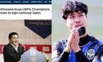 Báo châu Á tiết lộ danh tính tỷ phú Việt đưa Công Phượng, Quang Hải dự Champions League