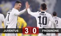 Juve 3-0 Frosinone: Ronaldo và Dybala cùng tỏa sáng, Juve thắng dễ Frosinone