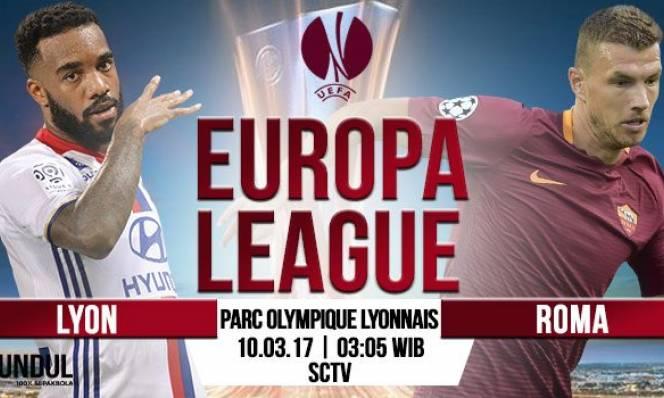 Lyon vs Roma, 03h05 ngày 10/3: Giữ vững lợi thế