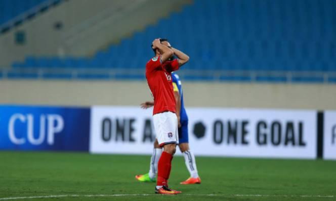 Mạc Hồng Quân nhận thẻ đỏ, Than Quảng Ninh thua đau ở AFC Cup