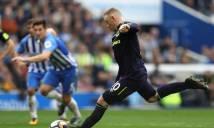 Giải cứu Everton, Rooney lập thành tích khủng tại Premier League