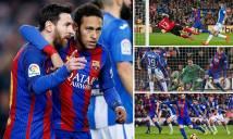 Messi lập cú đúp, Barca chật vật đánh bại Leganes
