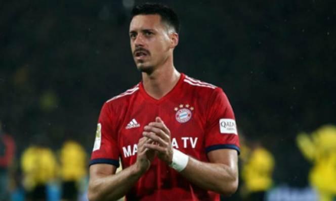 Bayern bán tháo Sandro Wagner sang Trung Quốc