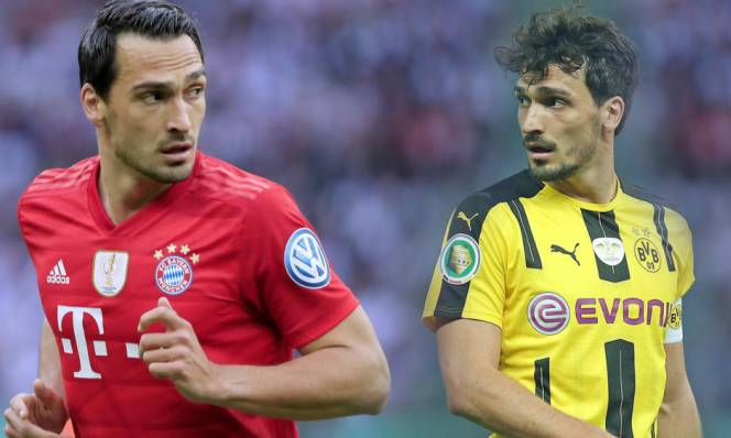 Hummels chuẩn bị về lại mái nhà xưa khi Bayern tuyên bố bán lại cho Dortmund