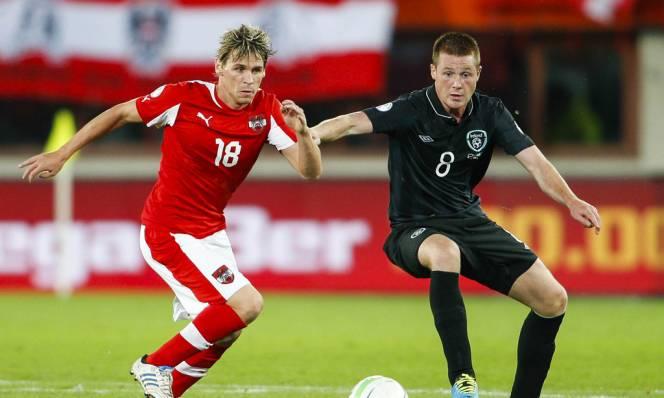 Áo vs CH Ireland, 00h00 ngày 13/11: Nhiệm vụ khó khăn