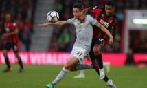 5 điểm nhấn Bournemouth 0-2 Man United: Herrera trở lại