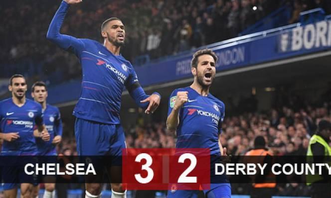 Chelsea 3-2 Derby: Trận đấu của những sai lầm