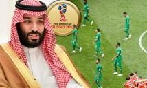 Ả Rập Saudi nhận án phạt nặng sau trận thua đậm 0-5 trước Nga