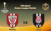 Nhận định Biến động tỷ lệ bóng đá hôm nay 28/09: Athletic Bilbao vs Zorya Lugansk