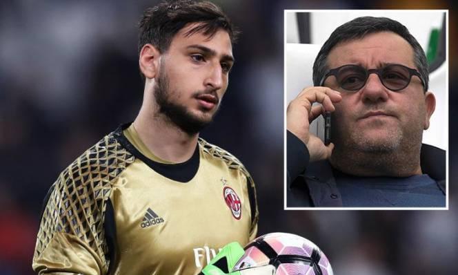 Siêu cò Mino Raiola quyết làm khó Milan vì 'tiểu Buffon'