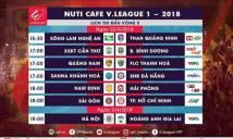 NHM xem trực tiếp các trận đấu tại vòng 3 V-League 2018 tại đâu?