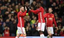 Tỏa sáng rực rỡ, Rooney lập kỷ lục mới cho Man Utd