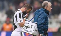 Kết quả bóng đá Italia: Juventus trả giá cho chiến thắng bằng chấn thương của Higuain