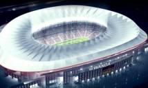 Atletico trình làng sân đấu và logo mới