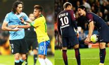 Cavani nổi khùng vì bị thổi bùng mâu thuẫn với Neymar