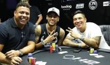 Neymar nhập hội poker với Rô béo
