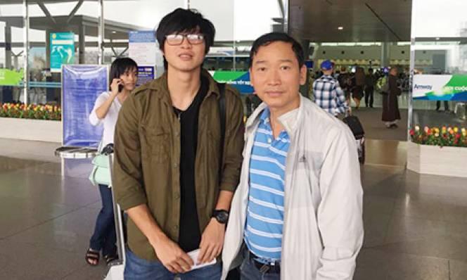 Tuấn Anh chuẩn bị tái khám ở Singapore
