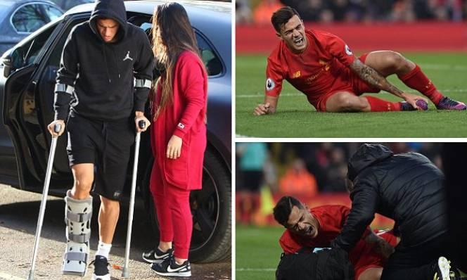 Liverpool nhận tin dữ từ Coutinho