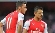 Wenger chưa muốn gia hạn với Sanchez và Ozil