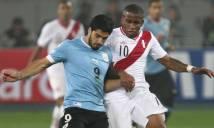 Peru vs Uruguay, 09h15 ngày 29/3: Uruguay khó, đã có Suarez