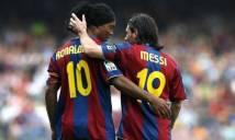 Đội hình những đồng đội xuất sắc nhất của Ronaldinho