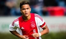 Con trai huyền thoại Kluivert mơ khoác áo Barca, thần tượng Ronaldo