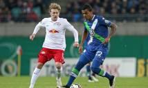 Wolfsburg vs RB Leipzig, 22h30 ngày 16/10: Thế cục đảo chiều