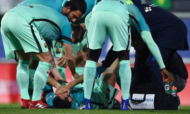 Barca nhận tin cực buồn sau chiến thắng Eibar