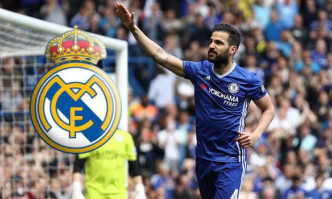 Sốc! Cesc Fabregas sắp gia nhập Real Madrid