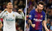 Ở tuổi 33, Ronaldo vẫn cho đại kình địch Messi 'hít khói'