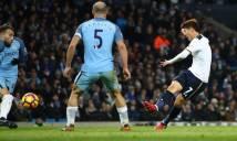 Sao Châu Á tỏa sáng, Tottenham rời Etihad với 1 điểm trong tay