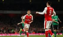 Hàng công chơi thuyết phục, Arsenal đè bẹp nhược tiểu Lincoln