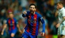 Messi cán mốc khủng trong ngày đánh sập Bernabeu