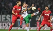 Nhận định Cologne vs Werder Bremen 18h30, 22/10 (Vòng 9 - VĐQG Đức)