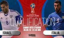 Israel vs Italia, 01h45 ngày 06/09: Khó cho chủ nhà