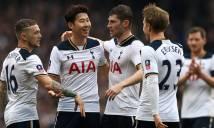 Thiếu vắng chủ công, Tottenham vẫn hủy diệt đối thủ để đi tiếp