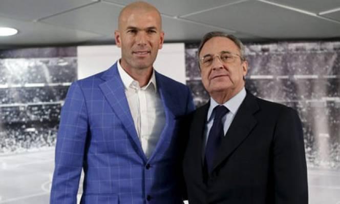 Zidane biết tiết kiệm tiền cho Perez