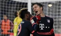 Lewandowski lập cú đúp, Bayern khởi đầu năm 2016 suôn sẻ
