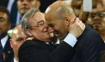 Perez tự hào vì Real sở hữu HLV hay nhất thế giới