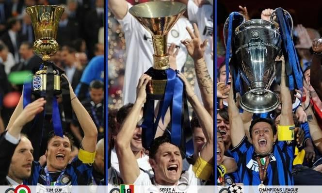 Juventus nhắm đến cú ăn 3 lịch sử của Inter 7 năm trước