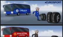 GÓC ẢNH BIẾM HỌA: Mourinho lại 'sai lầm'