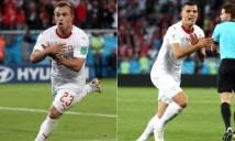 FIFA chính thức phạt 3 trụ cột Thụy Sĩ vì ăn mừng quá khích